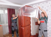 упаковка дивана стрейч плёнкой