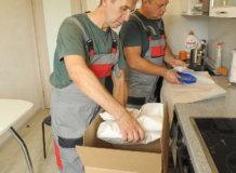упаковка кухни при переезде