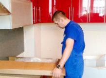 упаковка кухни для квартирного переезда